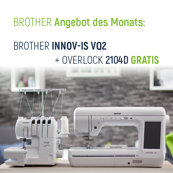 Brother Angebot des Monats xs + sm