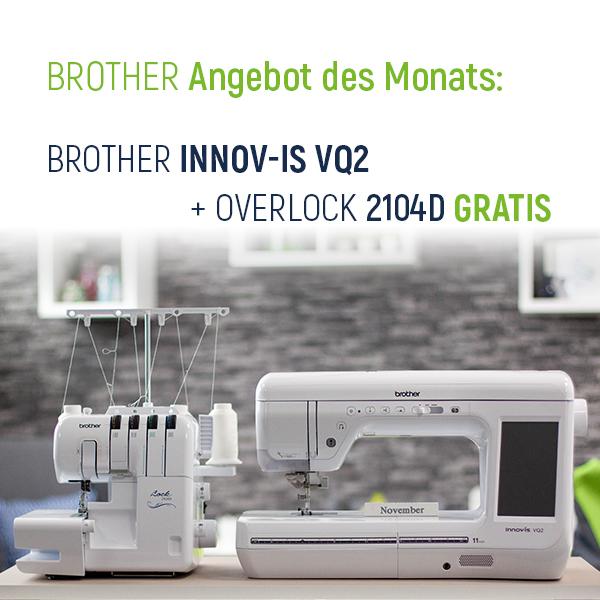Brother Angebot des Monats xs + sm