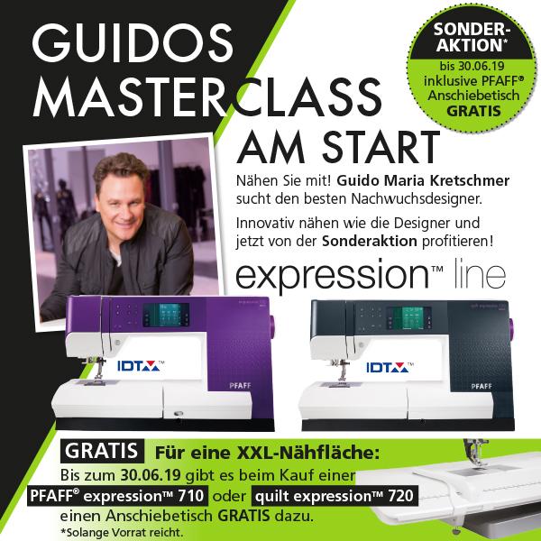 4 Pfaff Guidos Masterclass xs + sm