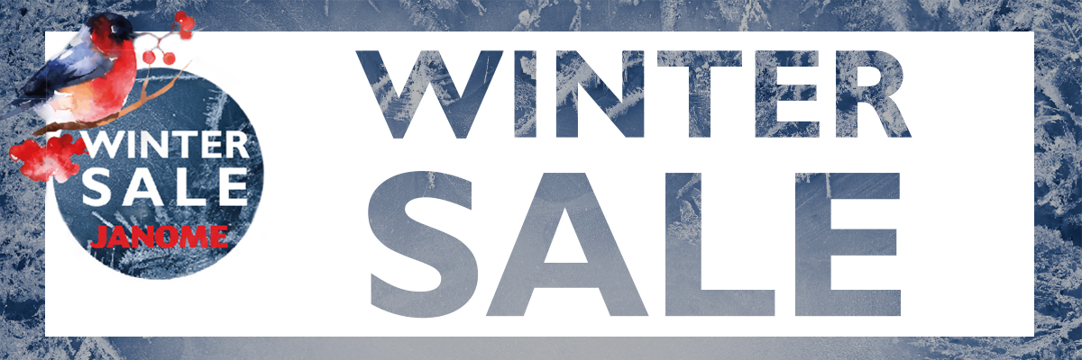 7 Janome Winter-Sale