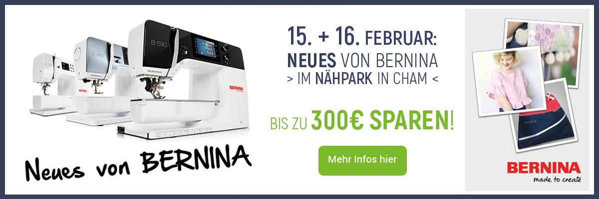 0 Neues von Bernina 2019