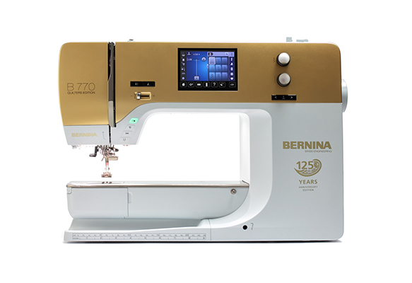 2 Bernina B 770 QE gold