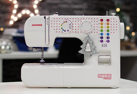 4 Janome Sew Mini Platinum