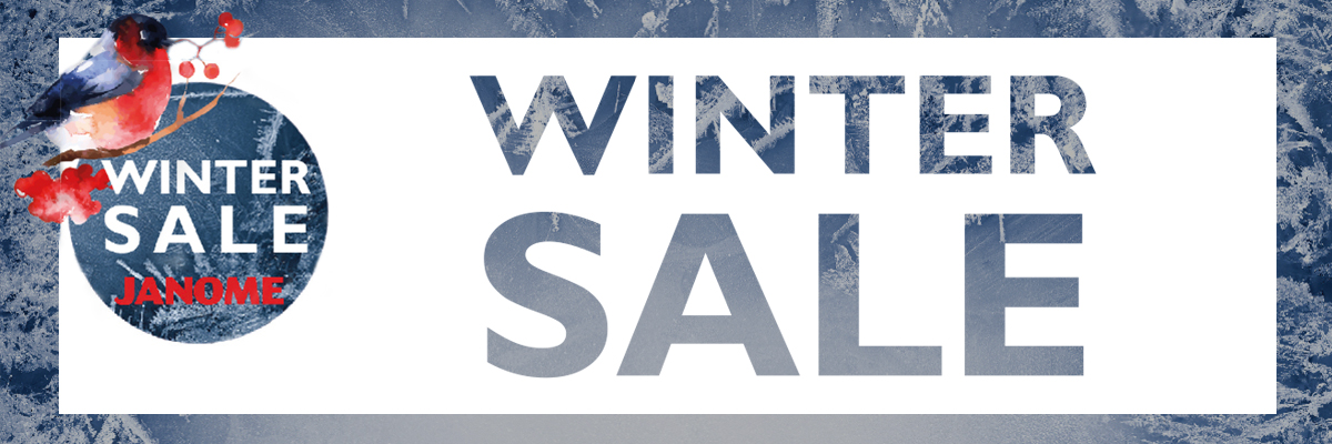 Janome Winter-Sale