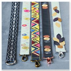 BERNINA Inspiration Special Verzieren und Sticken - Bunte Vielfalt - Taschenträger