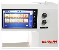 Bernina B 700 7-Zoll-Farbdisplay