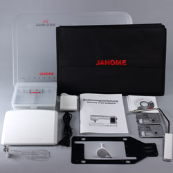 Janome Horizon Memory Craft 9450 QCP Lieferumfang
